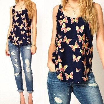 Summer Women  Tanks Women Sleeveless Top T Shirt Female Tank Tops Camisole Blusas Femininas S-XXXL Plus Size C132365068360