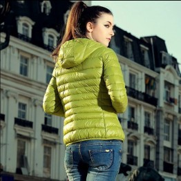 Cotton Hooded Women Jacket 2016 New Fashion Winter Casual Thin Women Coat Slim Warm Padded Outwear chaquetas mujer