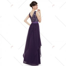 Elegant Long Cocktail Dress - Regalia - 2xl