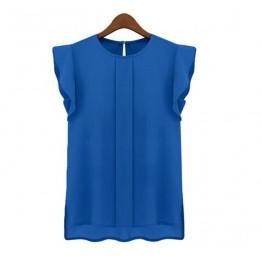 New 2016 Fashion Women's Casual Loose Sleeveless Chiffon Vest Tank T Shirt Tops S M L XL