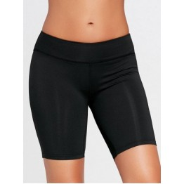 Sports Stretch Tight Shorts - Black - Xl